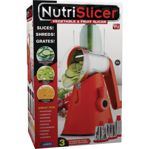 NutriSlicer 11 In. Vegetable & Fruit Slicer