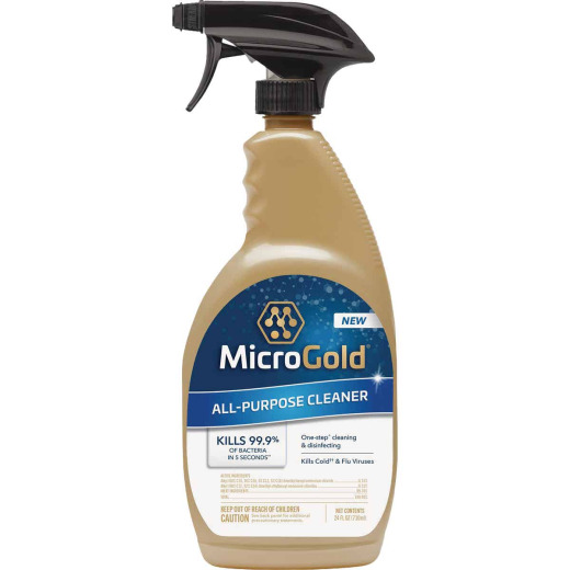 MicroGold 24 Oz. All-Purpose Cleaner & Disinfectant Spray