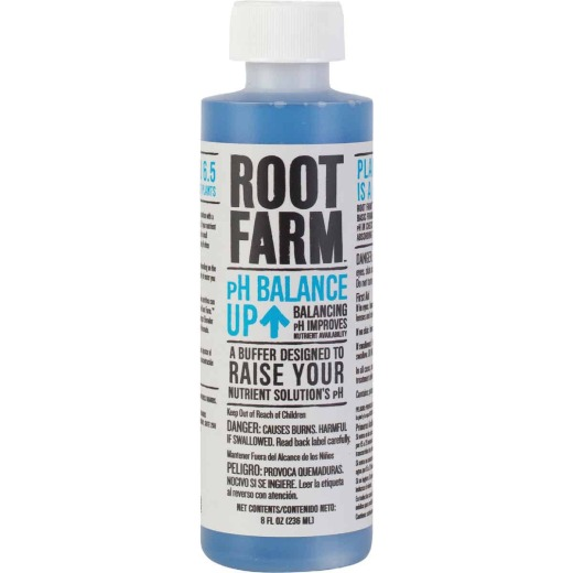 Root Farm 8 Oz. Concentrated Liquid pH Balance Up For Nutrient Solution