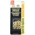Lord & Hodge 1/4 In. Brass Grommet Refills (24 Ct.) Image 2