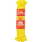 Do it 1/4 In. x 50 Ft. Yellow Braided Polypropylene Packaged Rope Image 1
