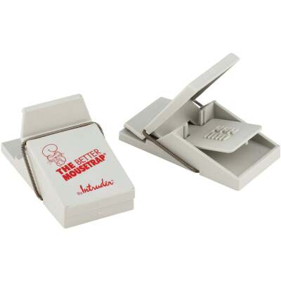 Intruder Mechanical Mouse Trap (2-Pack)