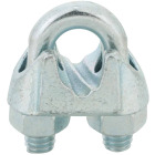 Campbell 5/16 In. Galvanized Iron Cable Clip Image 1