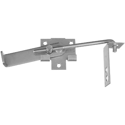 National Zinc-Plated 7 In. Steel Barn Door Latch