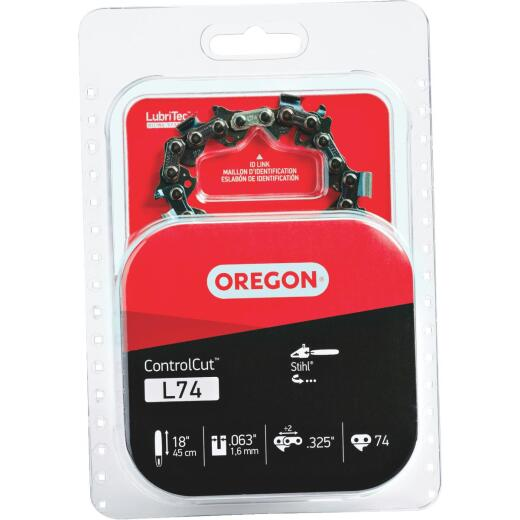 Oregon L74 18 In. Chainsaw Chain