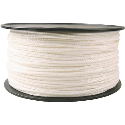 Do it 5/32 In. x 1000 Ft. White Braided Nylon Rope