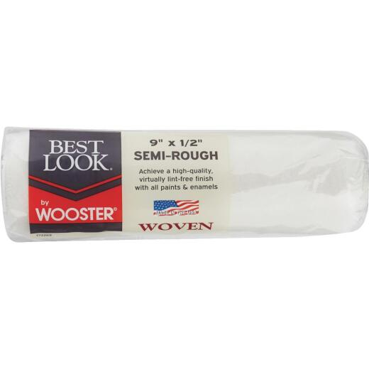 Best Look By Wooster 9 In. x 1/2 In. Woven Fabric Roller Cover