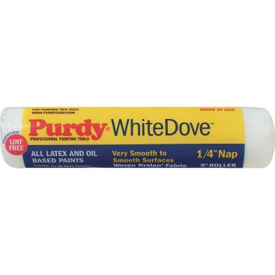 Purdy White Dove 9 In. x 1/4 In. Woven Fabric Roller Cover