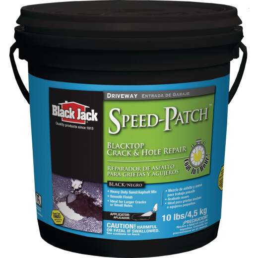 Black Jack Speed-Patch 10 Lb. Blacktop Crack and Hole Repair
