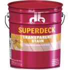 Duckback SUPERDECK Transparent Exterior Stain, Natural, 5 Gal. Image 1