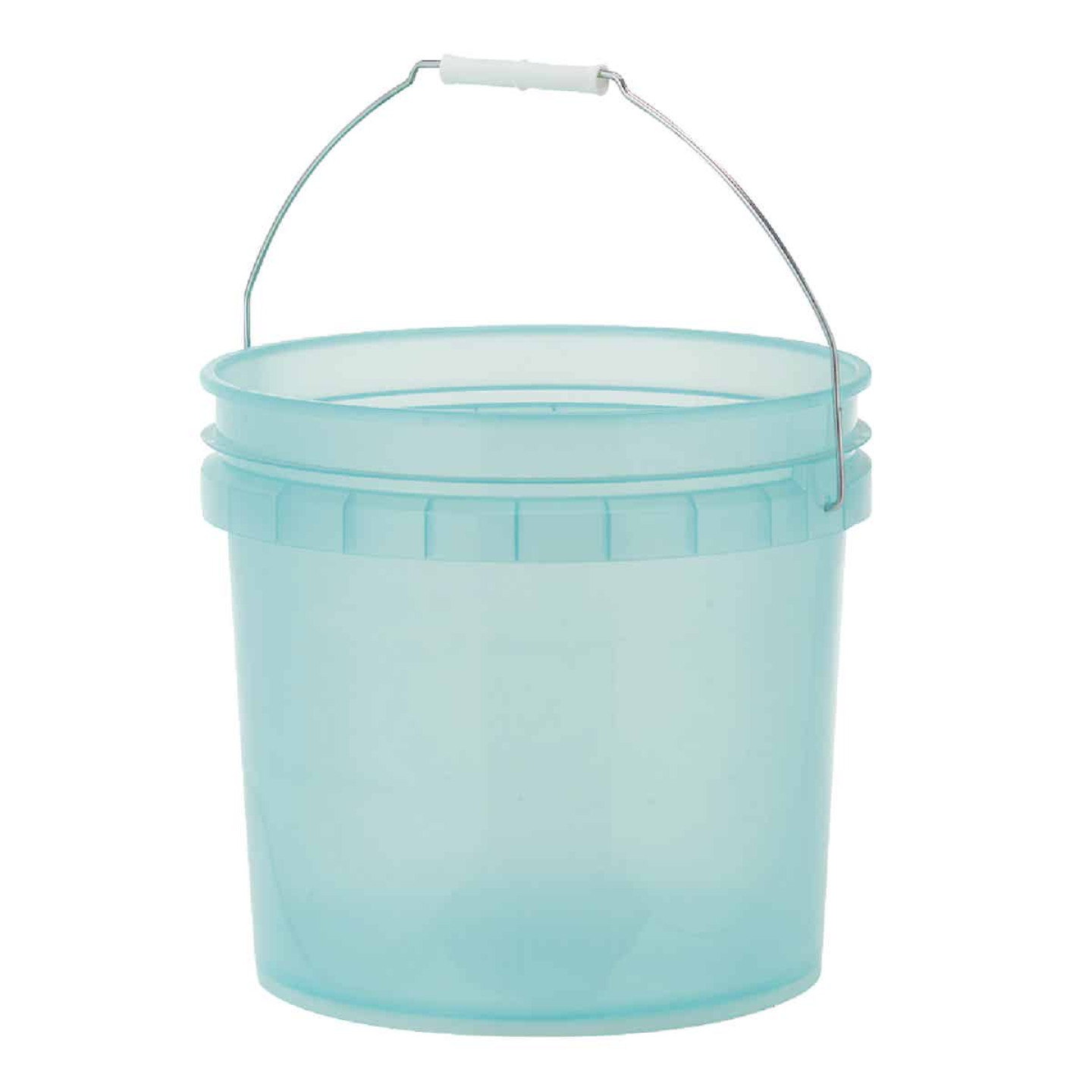 Leaktite 3.5 Gal. Green Translucent Pail Image 1