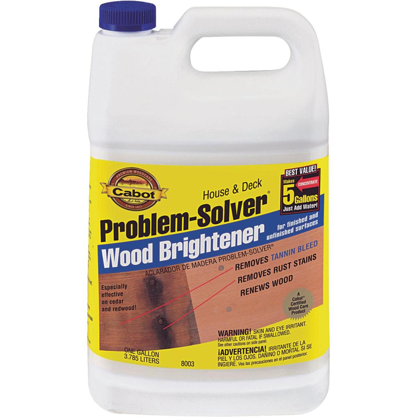 Cabot Problem-Solver 1 Gal. House & Deck Wood Brightener Image 1