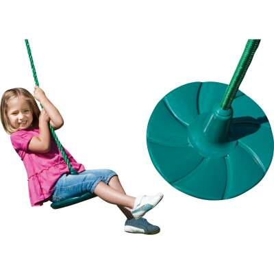 Swing N Slide Shooting Star Green Disc Swing