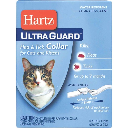 Hartz Ultra Guard Water Resistant Flea & Tick Collar For Cats & Kittens