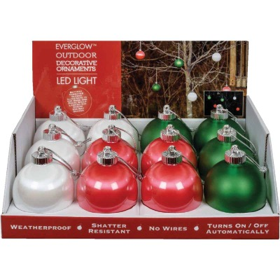 Xodus 5 In. Shatter Resistant LED Outdoor Christmas Ornament