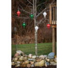 Xodus 9 In. Shatter Resistant LED Outdoor Finial Christmas Ornament Image 2