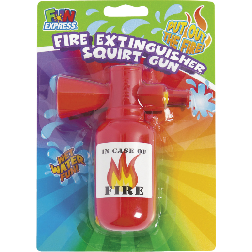 Fun Express Fire Extinguisher Squirt Gun