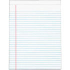 Staples 8-1/2 In. W. x 11 In. H. 50-Sheet White Top Bound Legal Pad (12-Pack) Image 1