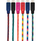 GetPower 10 Ft. Multi-Color Braided Micro USB Charging & Sync Cable Image 1